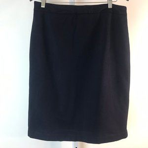 Boden Navy Ponte Pencil Skirt 12L
